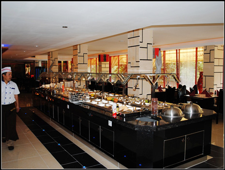 Restaurant Golden Moon in Burghausen - China-Mongolisch - Teppanyaki Grill Show-Cooking-Buffet